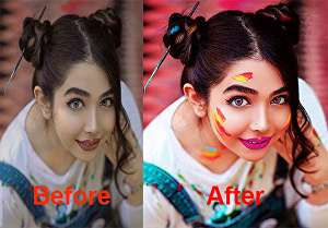 I will do professional Photoshop editing, photo editing or photo retouching