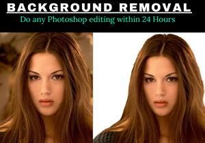 I will do professional photo editing and background removal