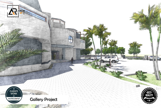 do architectural 3d modeling and high rendering