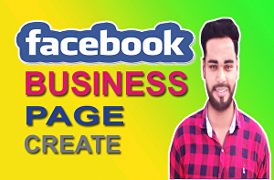 I will create, set up, and publish your facebook business page, shop or fanpage