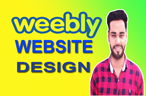 I will create a professional weebly website for you