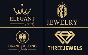 I will Do Minimalist Luxury Jewelry  Logo Design