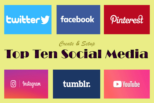 create and setup business page in top 10 social media