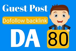 I will post a dofollow backlink guest post on DA 80 And PA 60 education website