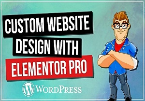 I will create WordPress website with Elementor