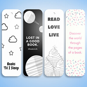 I will designs bookmarks for you