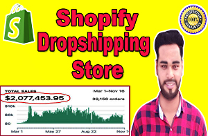 I will build 30k per month shopify dropshipping store