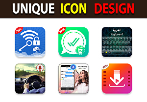 I will Design Professional Android and IOS App Icon