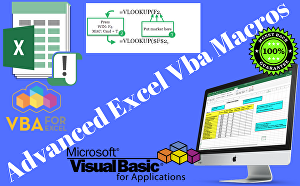 I will create microsoft excel tables, charts, data handle using vba