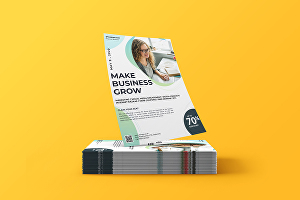 I will design corporate  business flyer