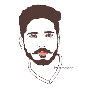 I will create line art from your photo portrait