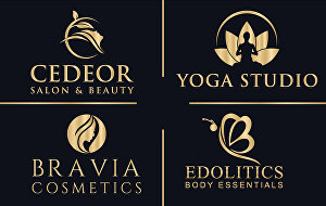 I will Design Fashion Cosmetics Beauty Skincare Line Spa Wellness logo