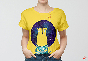 I will Design Trendy , Cute, and stylish t-shirts