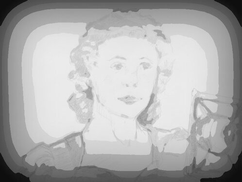 record a vintage british voice of the 1940s from newsreels, wireless and old stiff upper lip movies
