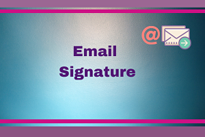 I will create and design HTML email signature