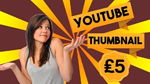 I will Design 3 Attractive YouTube Thumbnails