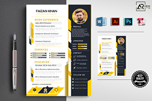 I will design killer resume, cv in professional style