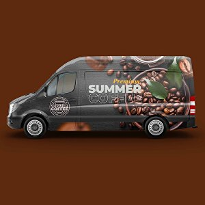 I will create an awesome car, van, truck or any vehicle wrap design or vehicle sticker