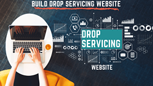 I will build a most profitable drop service website