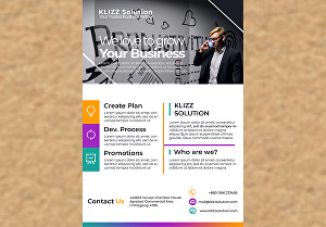 I will design a business flyer