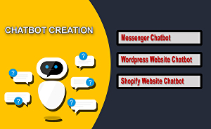 I will Create A Chatbot For Facebook Messenger  Or Website