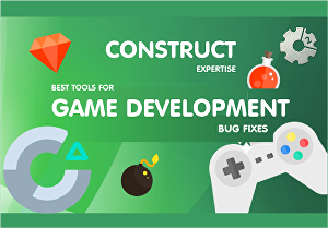 I will Fix a Bug in 'Construct 2' or 'Construct 3' games