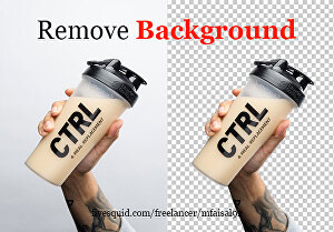 I will do photo editing and remove background from images