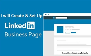 I will create and set up your LinkedIn business page