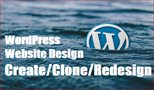 I will Create, Clone or Redesign your Website By WordPress