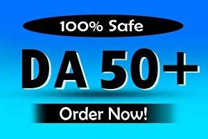I will increase Domain Authority Moz DA 50 Plus