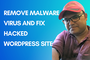 I will remove malware and clean hacked WordPress website