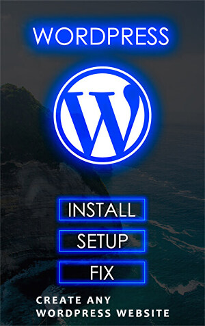 I will install wordpress, setup wordpress