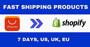 I will find fast shipping Shopify dropshipping product