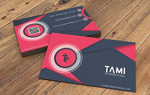 I will design professional looking business card design