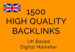 I will give you 1500+ High Quality Friendly Backlinks