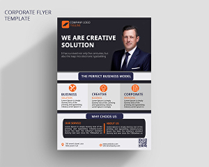 I will do professional business flyer in 24 hours