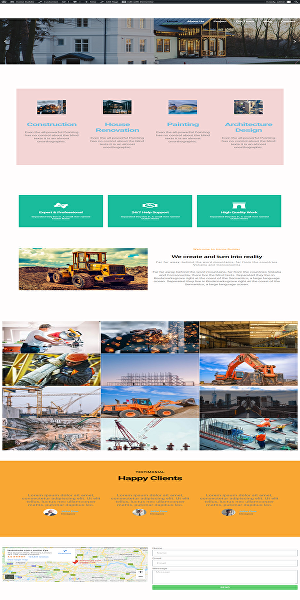 I will design, develop & make a responsive website with Elementor page builder