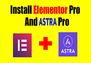 I will activate Elementor Pro with Astra Pro Licence key