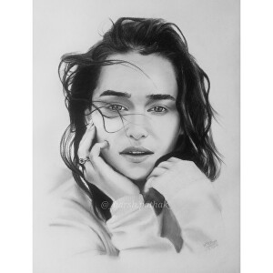 I will draw realistic hand drawn pencil portrait sketch from the photo provided