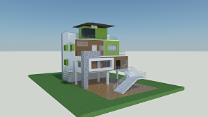 I will create a 3D model of your floorplan