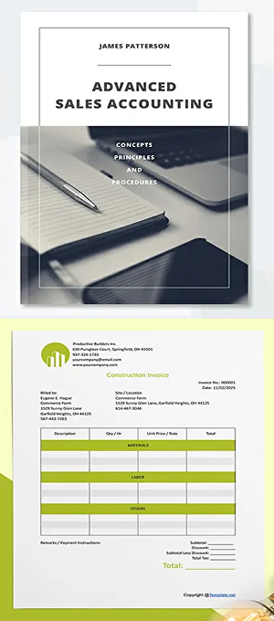 I will design invoice, business profile, proposal, all accounting related identities and cover le