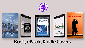 I will design eye-catchy book, ebook covers