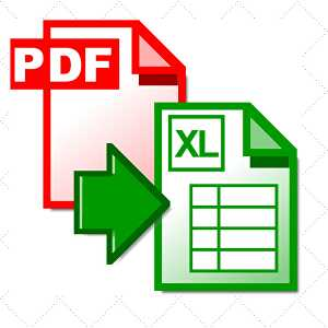 I will convert excel docx into PDF format