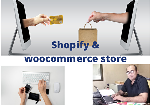 I will create a shopify store