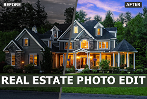 I will Edit or Retouch Real Estate Photos