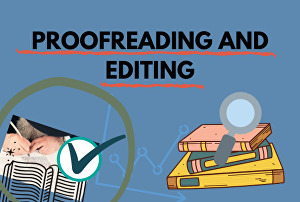 I will precisely proofread and edit your work
