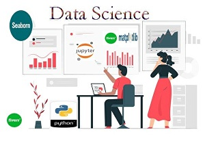 I will do data science projects using python