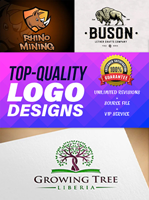 I will design modern and minimalist business logo for you