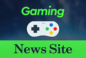 I will create a fully automated game news website for passive income