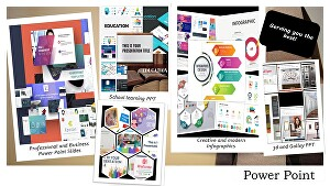 I will design creative, modern and colorful  PowerPoint Presentation and Google Slides templates
